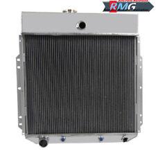 Radiatore in alluminio per PICKUP F350 F250 F100 Motore 1953 1954 1955 1956