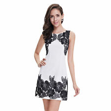 Polyester Regular Hand-wash Only Floral Dresses for Women