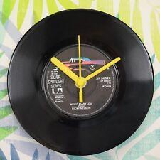 """Ricky Nelson 'Hello Mary Lou' Retro Chic 7"""" Vinyl Record Wall Clock"""