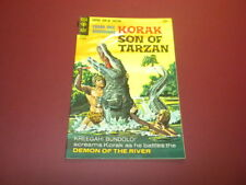 KORAK - SON OF TARZAN #20 Gold Key Comics 1967 EDGAR RICE BURROUGHS jungle