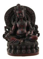 Vaishravana-Statue tibetaine Kubera Jambhala Dieu des Richesses 12 cm 8212