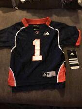 NEW Adidas Size 3T Illinois Fighting Illini Jersey # 1 Baby Infant Kid