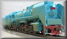 """BLUE MUSEUM VERSION"" China Railway Eisenbahn Gas-turbine QJ 0001 Experimental Steam Locomotive Dampflok BR 2-10-2 HO 1:87 DC 2-rail Gleichstrom Brand New (Neu Ovp)"