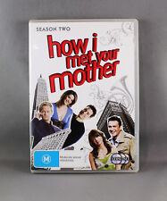 HOW I MET YOUR MOTHER: SEASON 2 (DVD, 2008, 3-DISC SET) EXCELLENT CONDITION