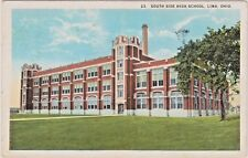 South Side High School in Lima. Ohio on South Pine Street - Built in 1917 & 1923