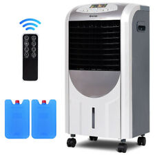 Evaporative Portable Air Conditioner Cooler Fan Heater with Remote Control Room