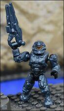 HALO MEGA BLOKS UNSC BLUE STEEL SPARTAN PATHFINDER FIGURE 97129 PELICAN GUNSHIP