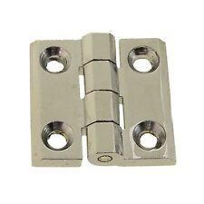 54611862 1 Par Eléctrico Tabla Tapa Nevera Industrial Bisagras Cromadas 40x40mm