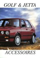 1 VW Golf & Jetta Accessoires brochure NL 1990 1.9.90 Prospekt Zubehör broszura