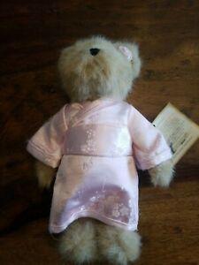 "HTF Vintage Boyds Bear Smithsonian Institution Cherry Blossoms ""Hana"""
