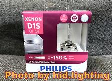 Philips Xenon X-treme Xtreme Vision Plus gen2 +150% HID Headlight Bulb D1S 4800K