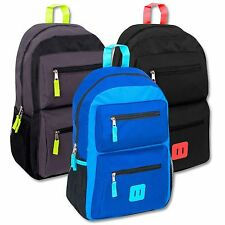 "Lot of 24 Wholesale Bulk 18"" School Backpacks Backpack Bag New FREE SHIPPING!"