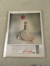 Vintage 1960 Smirnoff Vodka Ad Eva Gabor