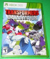 Transformers: Devastation Microsoft Xbox 360 *New! *Sealed! *Free Shipping!