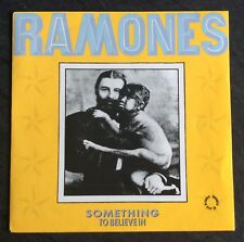 """Ramones Something To Believe In Very Rare French 7"""" PS Punk New Wave Sex Pistols"""