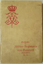 Füsilier-Regiments von Gersdorff, Militaria, Militär, Regimentsgeschichte,