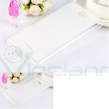 Custodia cover TPU Flexy bianca semi trasparente per Lenovo S810T S860E S856