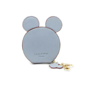 Cute MOUSE Card Holder Badge Wallet Purse card holder key chain money bag gift