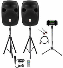 "Rockville Dual 12"" Android/iphone/ipad/Laptop Pro Youtube Karaoke Machine/System"