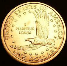 "2000 D Sacagawea Dollar US Mint Coin in ""Brilliant Uncirculated"" Condition"