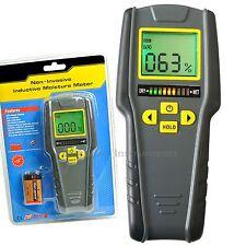 Digital Non-Destructive Inductive Moisture Meter 4 modes 0~40°C LED