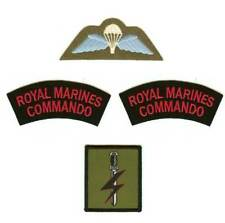 Special Forces Support Group SFSG Royal Marines Badges