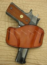 Colt,Kimber,S&W,Sig Sauer, Les Baer, 1911 Leather Gun Holster Made in U.S.A.