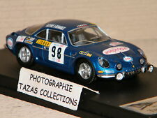 ALPINE RENAULT A110 3rd TAP RALLY PORTUGAL 1971 TROFEU 1/43 Ref RRal 05