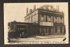 """SAINT-QUENTIN (02) DEPOT des COMPTOIRS du NORD """"Ets Ch BLANC"""" CAMION en 1935"""