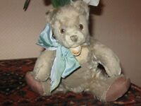 Antique Steiff Zottelbear Zotty Mohair Teddy No ID