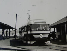 USA295 1946 ATLANTIC CITY & SHORE LINES Co TROLLEY PHOTO - New Jersey USA