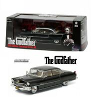 "GREENLIGHT 86492 1:43 1955 CADILLAC FLEETWOOD 60 BLACK ""THE GODFATHER"" MOVIE"