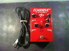 SIB ECHODRIVE TUBE DELAY/ECHO EFFECTS PEDAL w/CORD ECHO DRIVE RARE FREE SHIP
