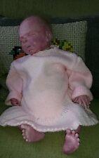 Poupée Bébé nourrisson nouveau né  reborn baby vintage dolls RARE Tyler