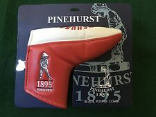 PINEHURST GOLF RED WHITE & BLUE LIMITED EDITION  # / 100 BLADE  PUTTER COVER