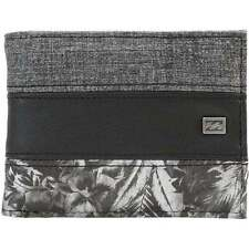 BILLABONG MENS WALLET.TRIBONG FAUX LEATHER GREY MONEY/CARD/COIN PURSE 7S/04/3583