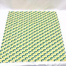 12-Pack Subway Logo Green Yellow Square Bandana Restaurant Uniform Employee