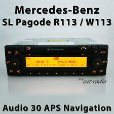 Original Mercedes Audio 30 APS R113 Navigationssystem CD SL-Klasse W113 Pagode