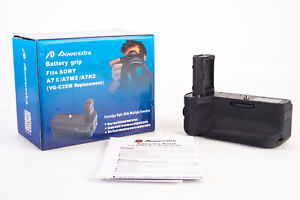 Powerextra VG-C2EM Vertical Battery Grip for Sony A7 ii A7M2 A7R2 New In Box V12