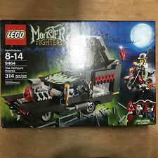 LEGO MONSTER FIGHTERS 9464 MISB VAMPYRE DRACULA HEARSE set w/ Zombie 314 piece
