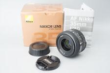 Nikon AF Nikkor 35mm f/2 f2 D Auto Focus Lens