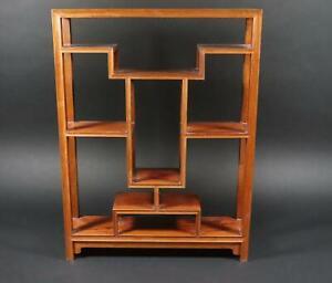 Chinesisches Regal Tischregal Holz (MÖ1897)