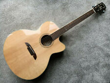 Alvarez AJ80CE Artist Series Jumbo Acoustic Electric Guitar A+ Solid Spruce Top
