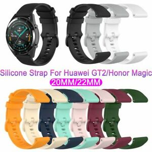 Silicone Replacement Watch Strap Universal For Huawei Watch GT2 Honor Magic