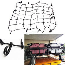 """Roof Rack Cargo Elastic Luggage Net w/ Hooks 48""""×36"""" For Car Truck Trailer Jeep"""