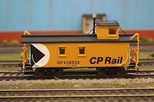 True Line Trains HO CP Rail Caboose Gold Series