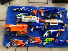 Nerf Mega Sammlung 15 Waffen teilweise mit Tuning + viel Zubehör
