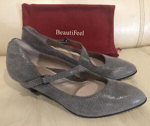 BeautiFeel Women's Lilou - Fall Taupe Luminous Suede- Size 39