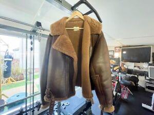 WW2 British Eastman Leather Jacket RAF 1942 Pattern Battle of Britain 46 Chest