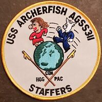 USS ARCHERFISH  SS-311 SUBMARINE PATCH Balao-class USN NAVY COLOR DRESS MILITARY